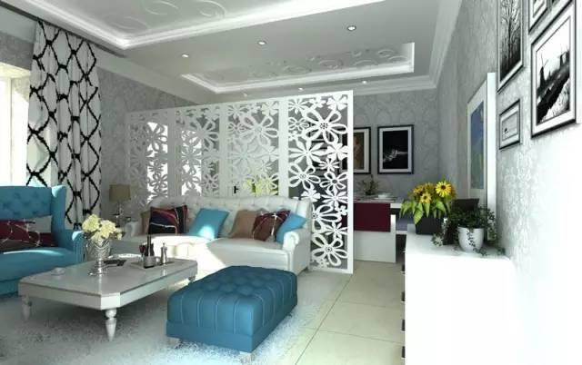 客厅隔断设计方案,客厅隔断装修效果图