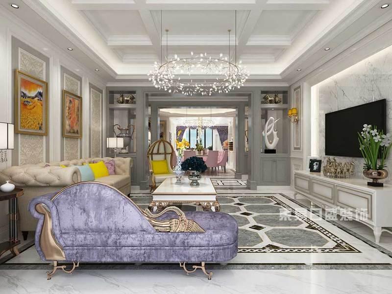 2019年流行的简欧客厅装修效果图送给即将装修的业主图片