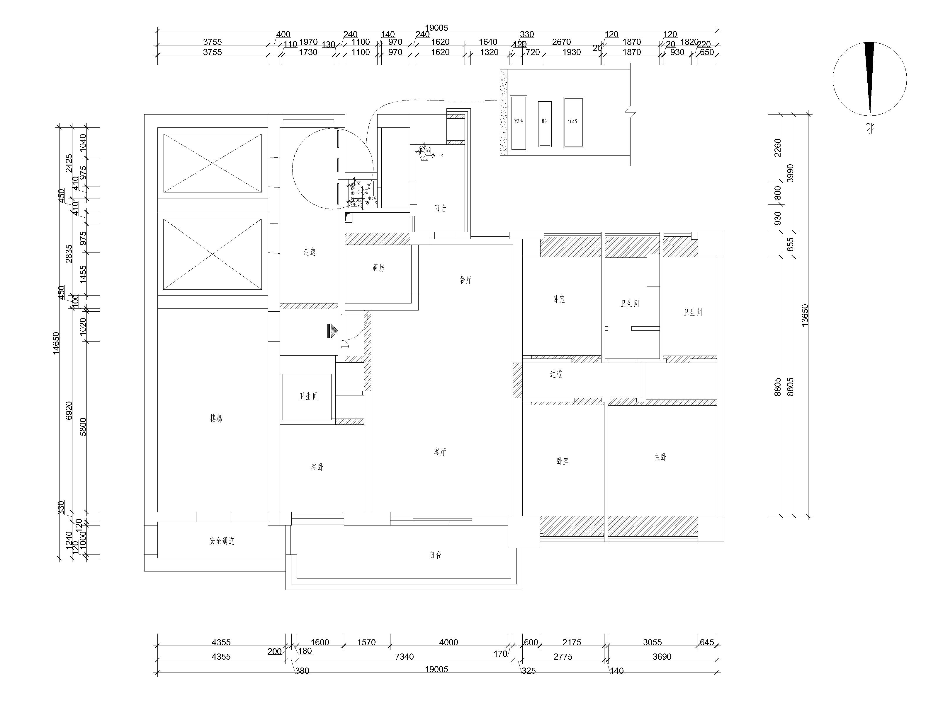 壹方中心玖誉 现代中式风格装修 280平方 四居室户型设计装修设计理念