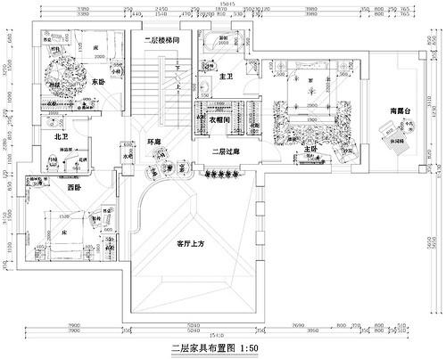 君山高尔夫-400平米-托斯卡纳乡村风格装修设计理念