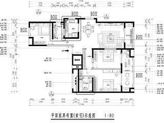清江山水-156平米-美式风格-三室两厅一厨两卫