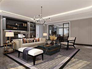 鼎峰尚境-160㎡-现代前卫风格-四居室户型解析
