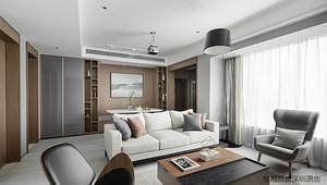 《深圳装修房子的步骤》现代风格装修效果图,简约之美!