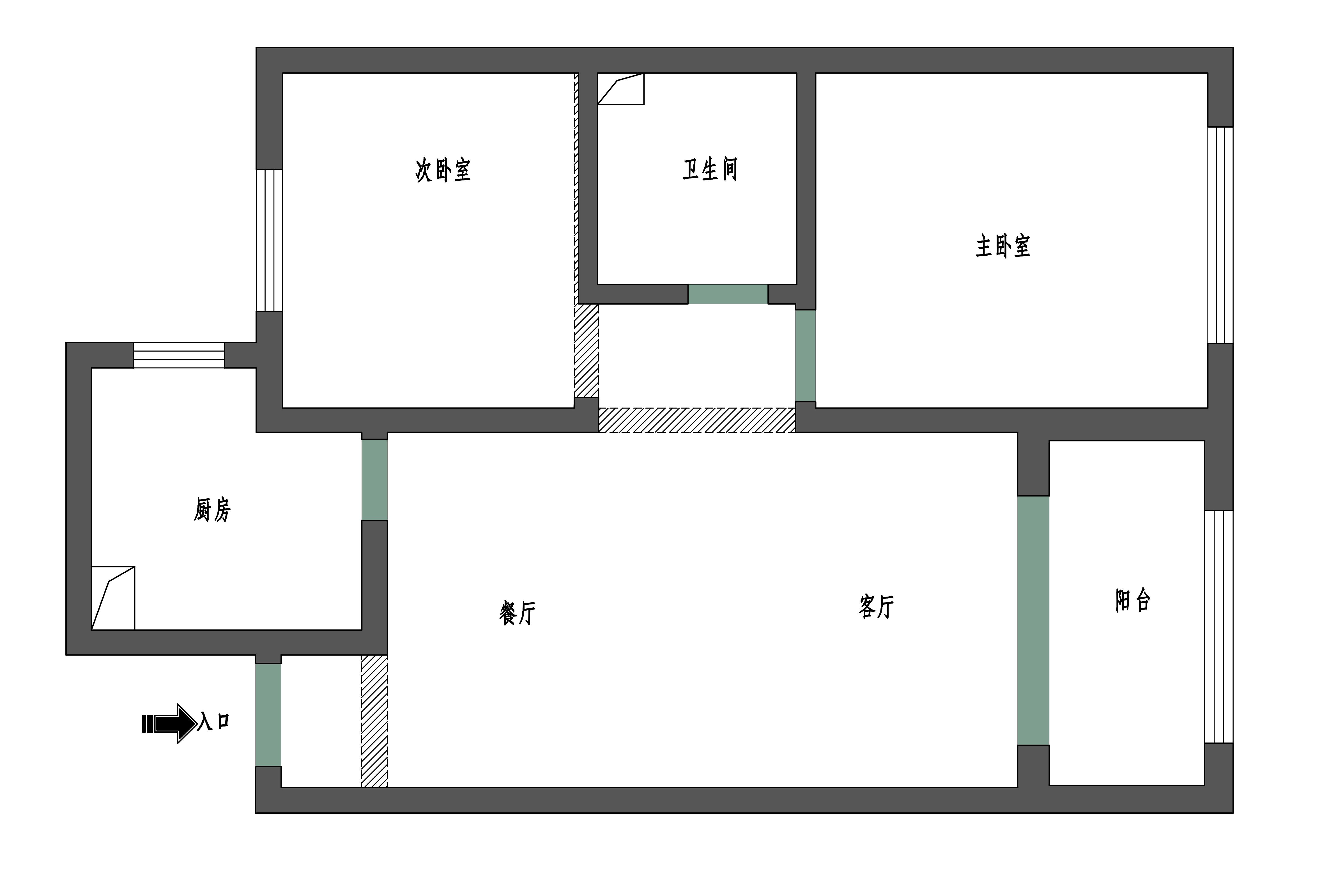 保利叶公馆  现代简约  86㎡装修设计理念