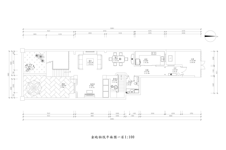 金地铂悦_新古典_223平装修设计理念