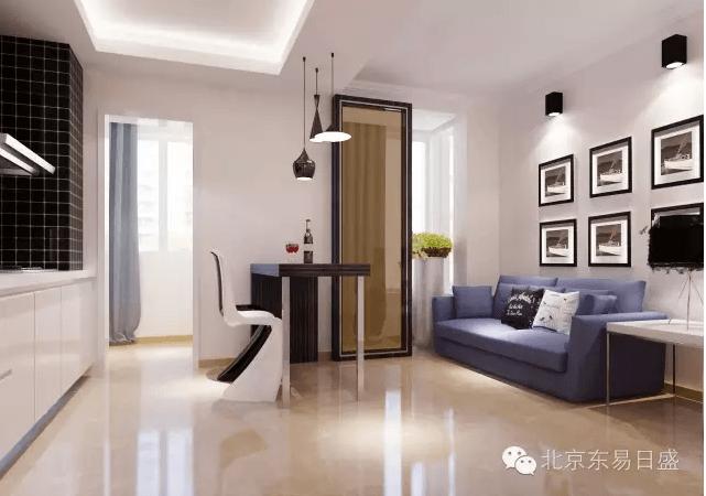 北京总部旗舰店-沙发摆放效果图