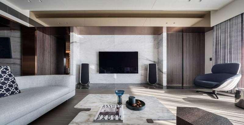 125平米現代輕奢風格房屋裝修效果圖