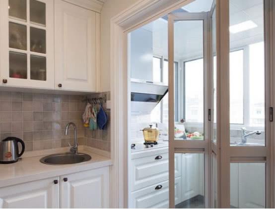 廚房門裝修效果