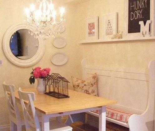 餐厅与飘窗完美结合 餐厅温馨设计方案