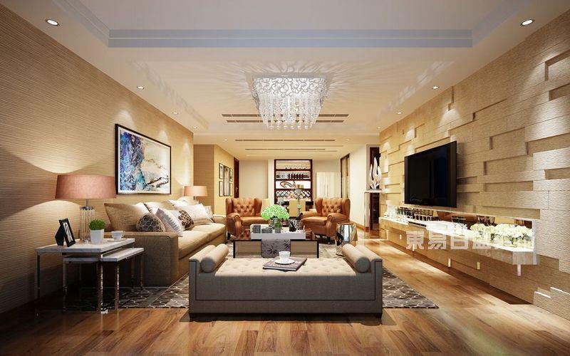 一个精致美观的客厅是一个家庭美丽幸福的家的开始,宜家风?欧美风?地中海风?少女风?到底哪种风格才是最适合你呢?今天东易日盛小编就来告诉你客厅怎么装修好看,东易日盛客厅样板装修案例。   东易日盛客厅样板装修案例一:中式水墨风    这个风格特别适合于80后的都市白领,既不会显得幼稚又不会太过成熟,而且非常的雅致经典,淡淡的水墨画居中放置在客厅的白色墙壁上,米白色的沙发吸引了所有的目光,再搭配上原木的茶几,仿佛都能看到安静的午后在蝉鸣中静静窝在沙发上看书喝茶的场景了。   东易日盛客厅样板装修案例二:经