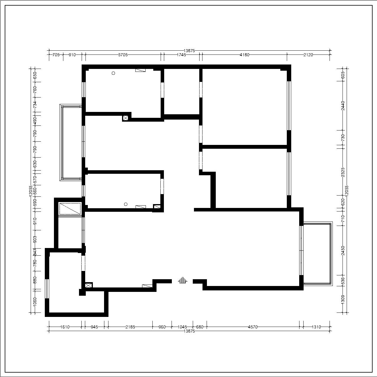 亿达第五郡-法式-115平装修设计理念