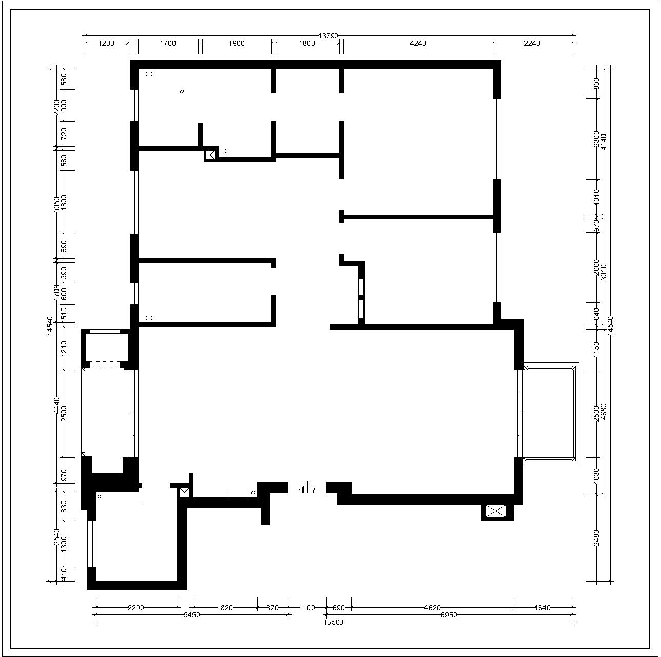 亿达第五郡-新古典-131平装修设计理念