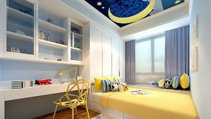 9平米小卧室装修图,打造舒适儿童房-深圳家庭装修