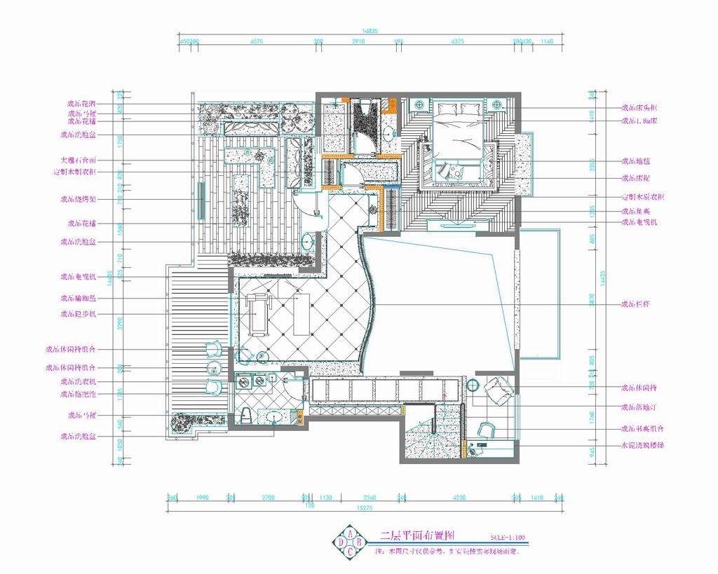 枫丹壹号-新古典-240平米装修设计理念