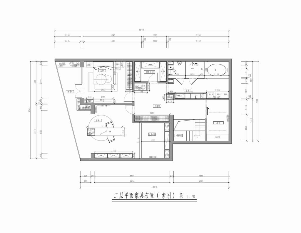长河湾-新中式-230平米装修设计理念