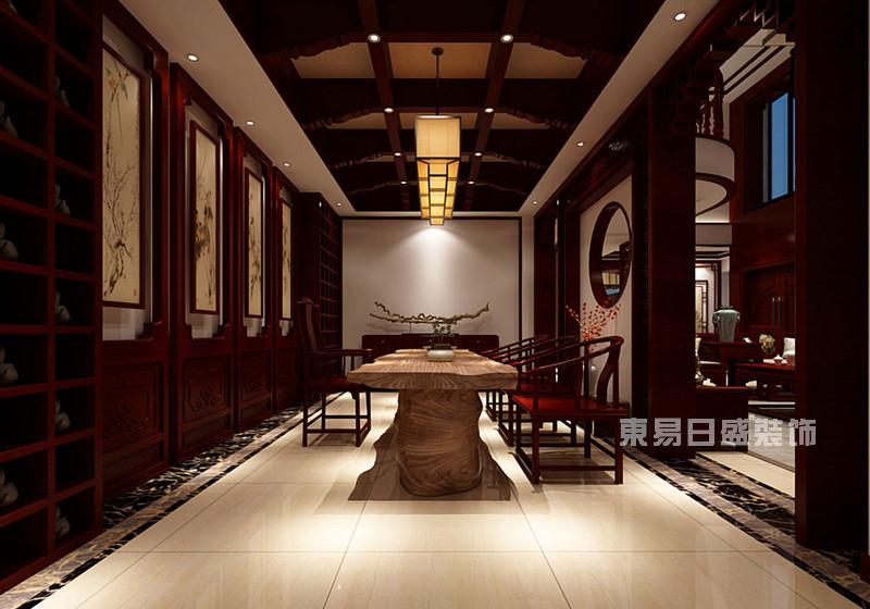 昆明家装如何装修设计家庭休闲茶室