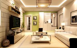 一种颜色让你的家清新十足_深圳室内装修设计