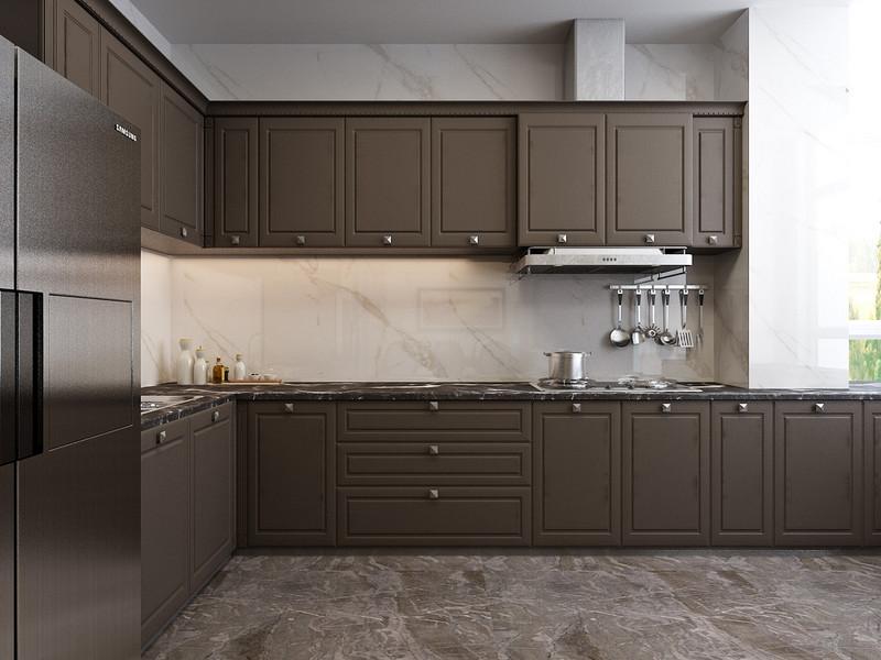 厨房,开放式的厨房,强调互动通透.jpg