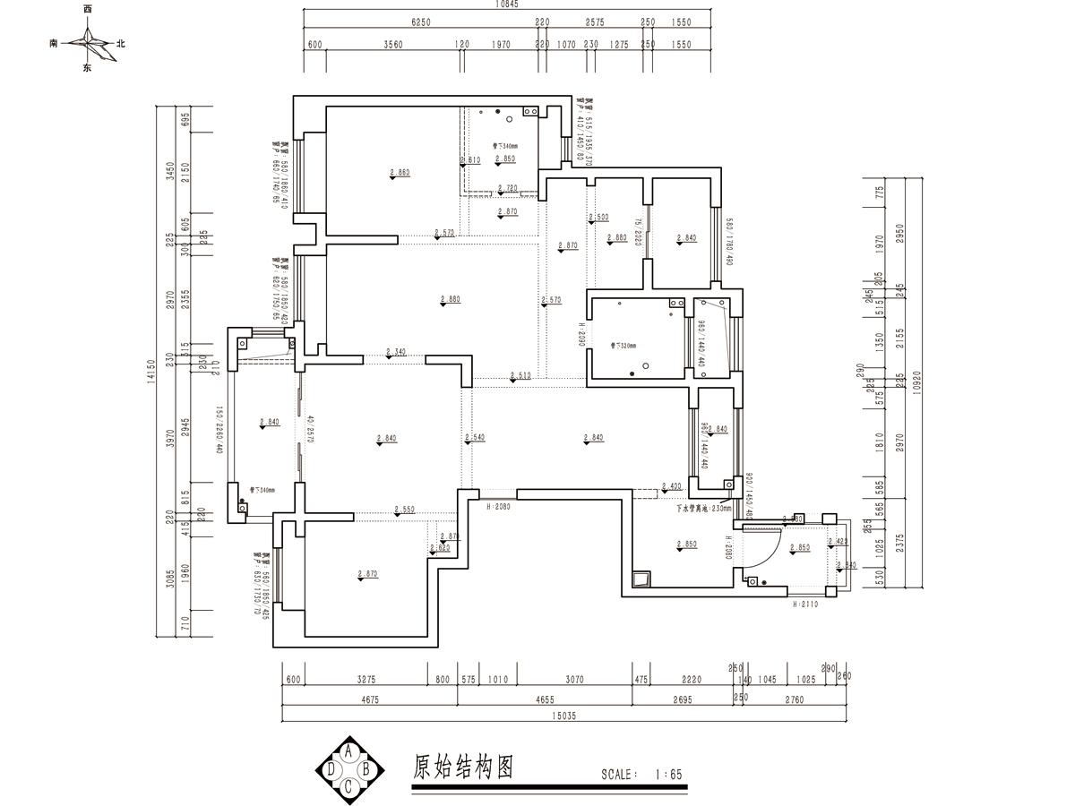 星光御墅现代轻奢平层160平装修设计理念