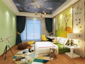 装修设计一个漂亮的儿童房,让孩子自己睡