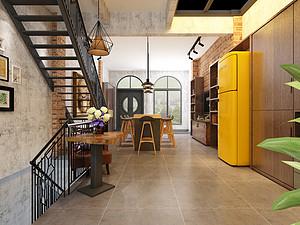 昆明万辉星城案例分享:昆明家装风格之工业风装修风格的特点