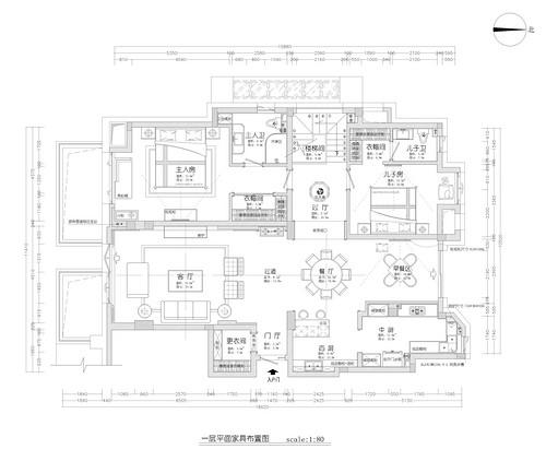 运河澜湾-新中式装修设计理念