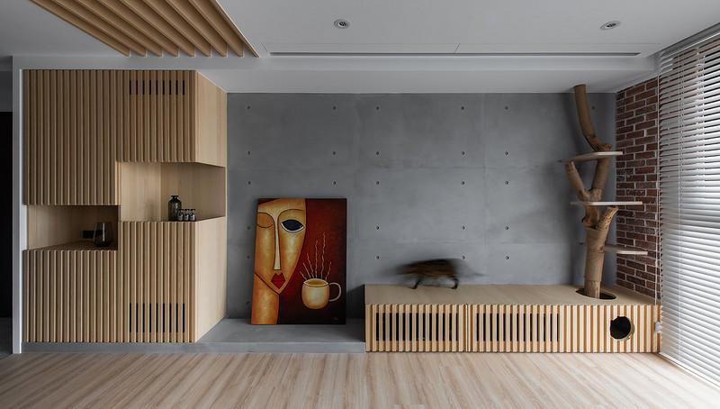 148平米装修效果图-客厅