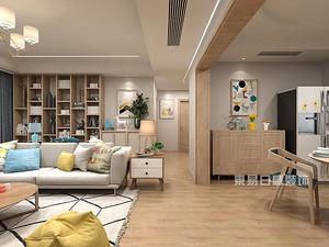 博林天瑞|150平米三居室装修,堪称美式风格之精品