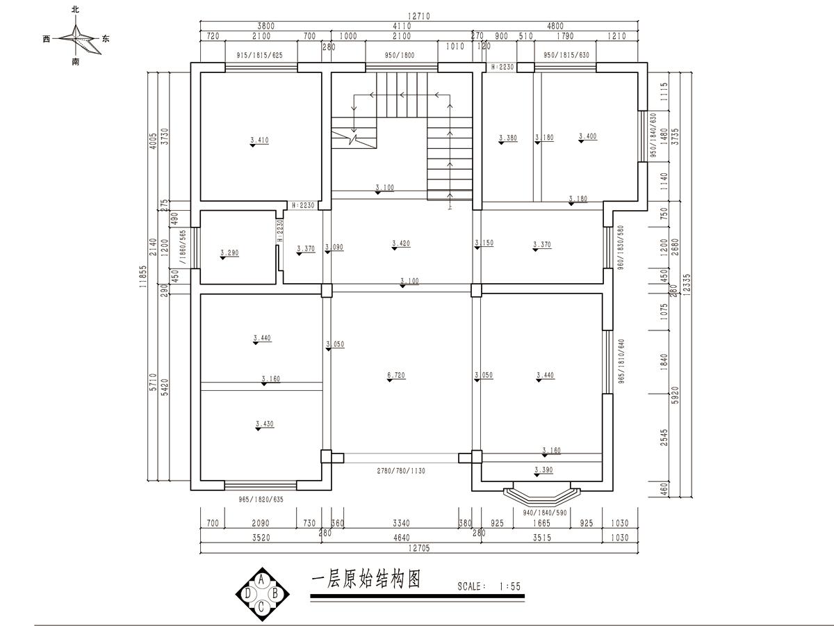 余姚自建别墅法式风格300平装修设计理念