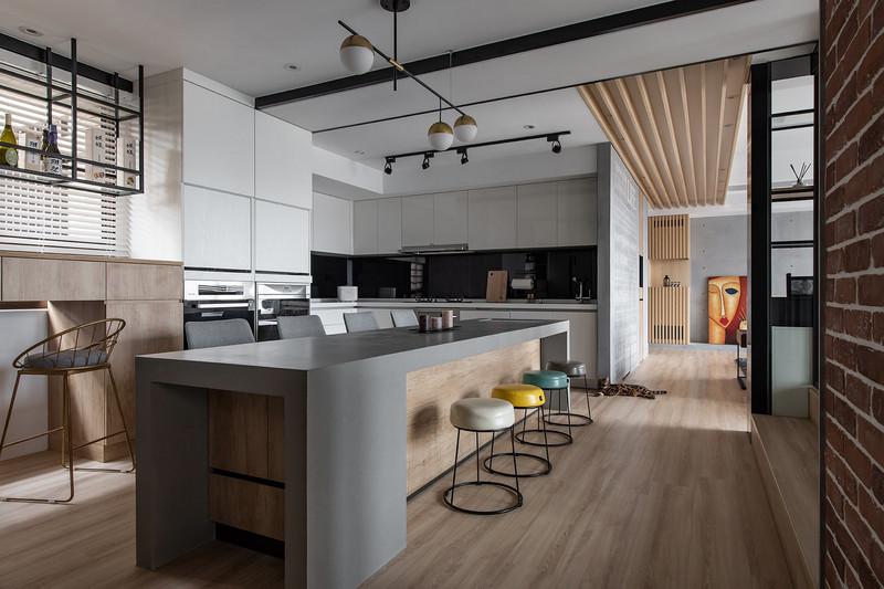 148平米装修效果图-厨房
