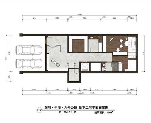 九号公馆-现代奢华风格-700㎡-别墅装修效果图装修设计理念