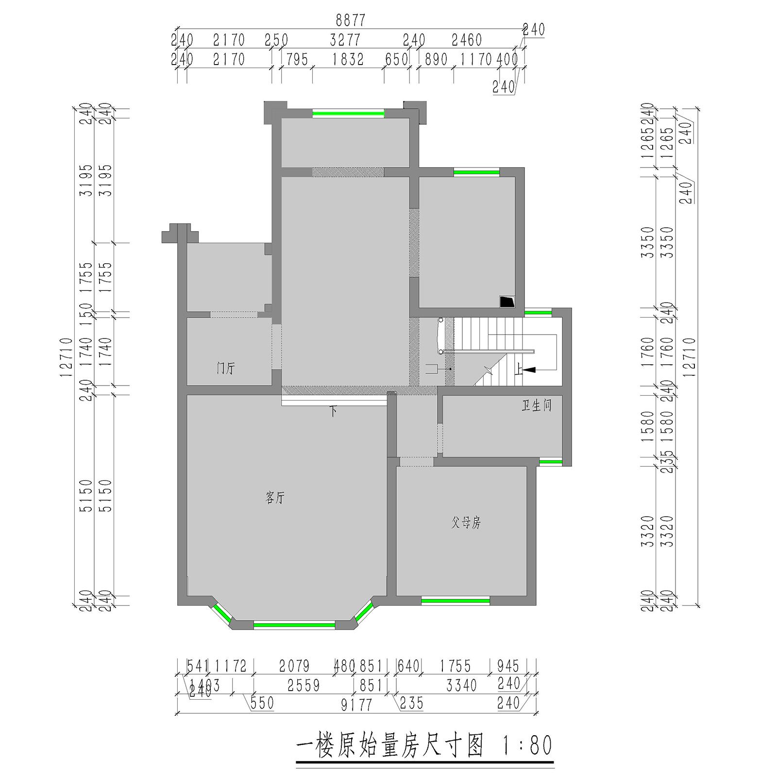 保利两河森林204㎡别墅法式风格装修效果图装修设计理念
