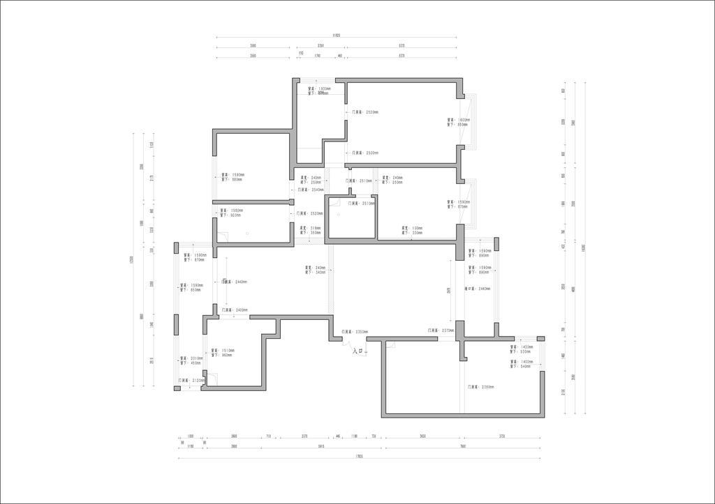 怡佳·天一城欧式228平米装修效果图装修设计理念