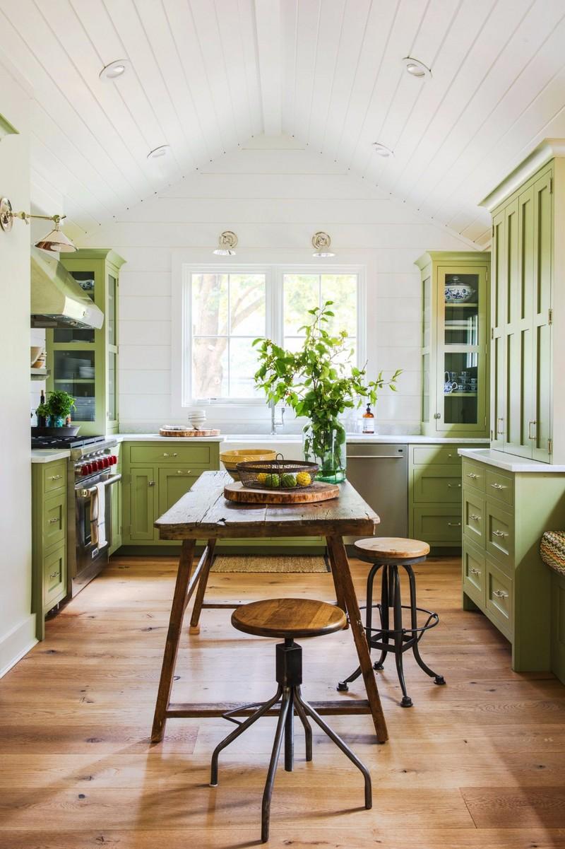 森林绿厨房效果图