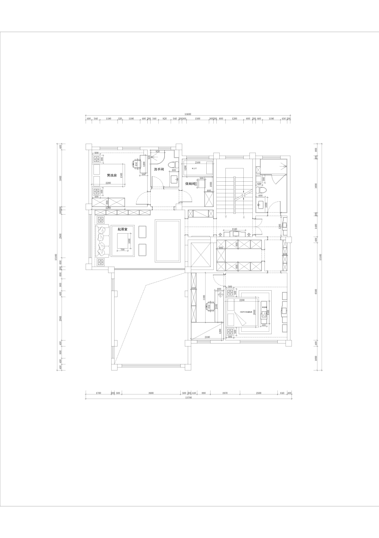 衢州公馆-460m²-美式装修设计理念