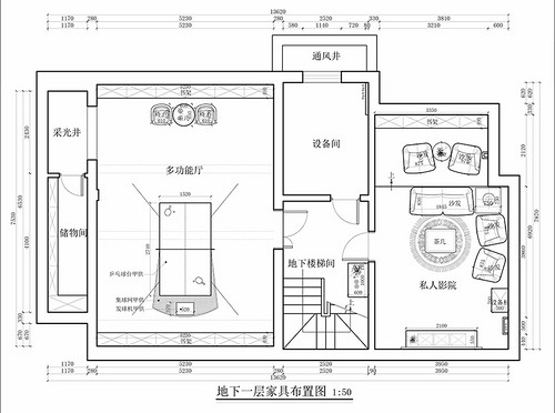香山清琴.丽苑-408平米-美式乡村风格装修设计理念