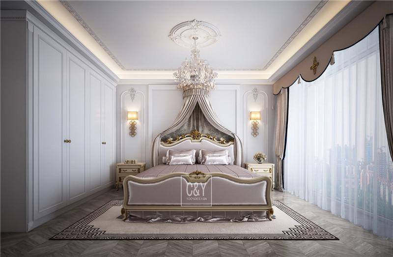 129平米现代风格装修-卧室