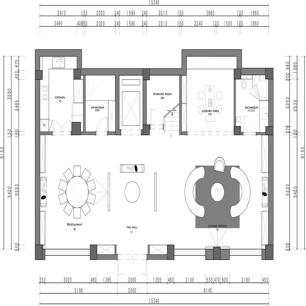 铂悦西郊-现代中式-490平米装修设计理念