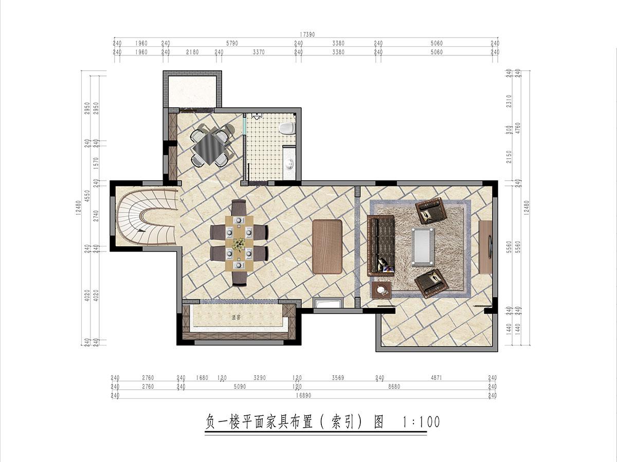470㎡别墅新古典风格丨嘉裕第六洲实景装修案例装修设计理念