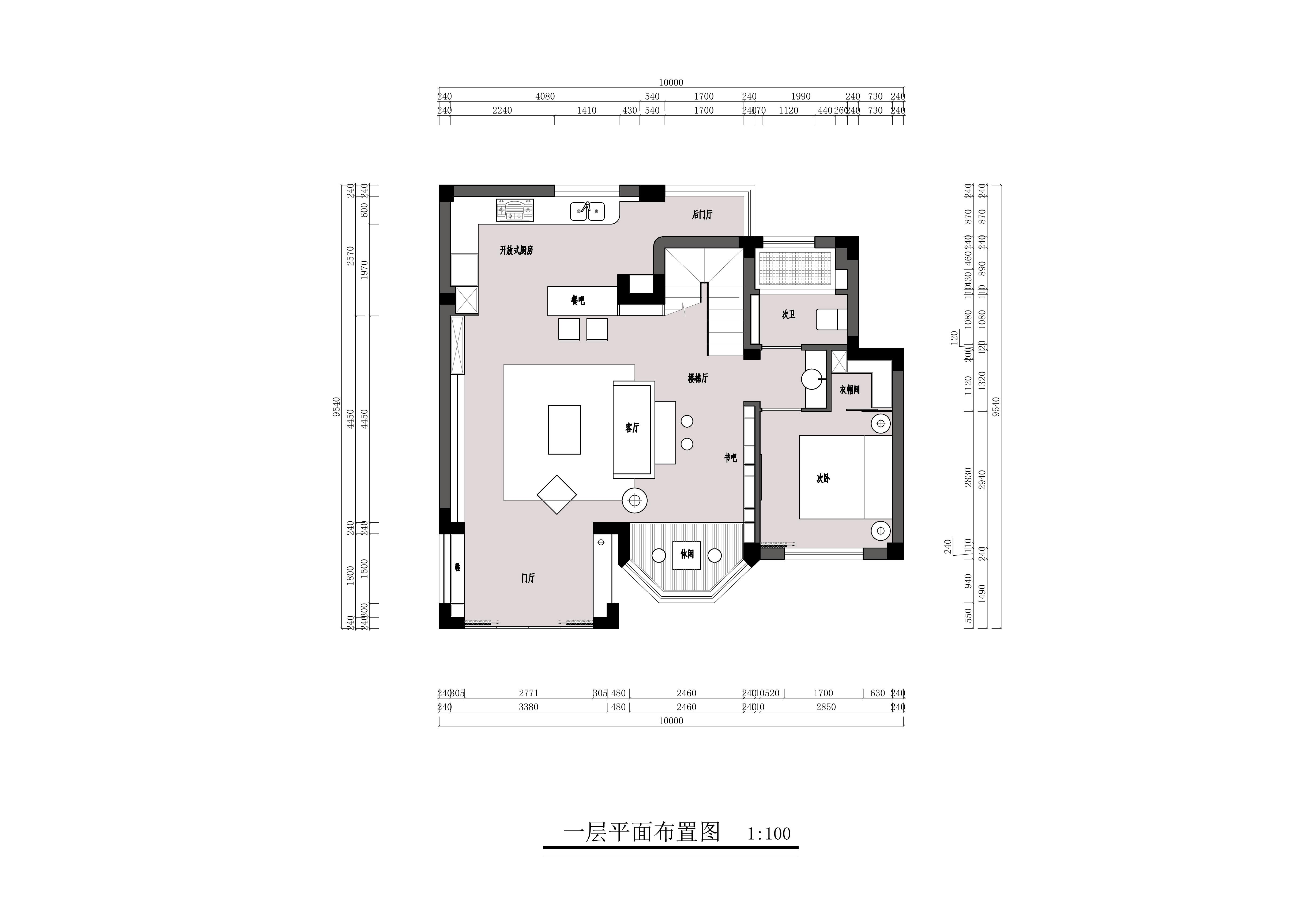 桃园人家180平复式户型现代风格装修装修设计理念