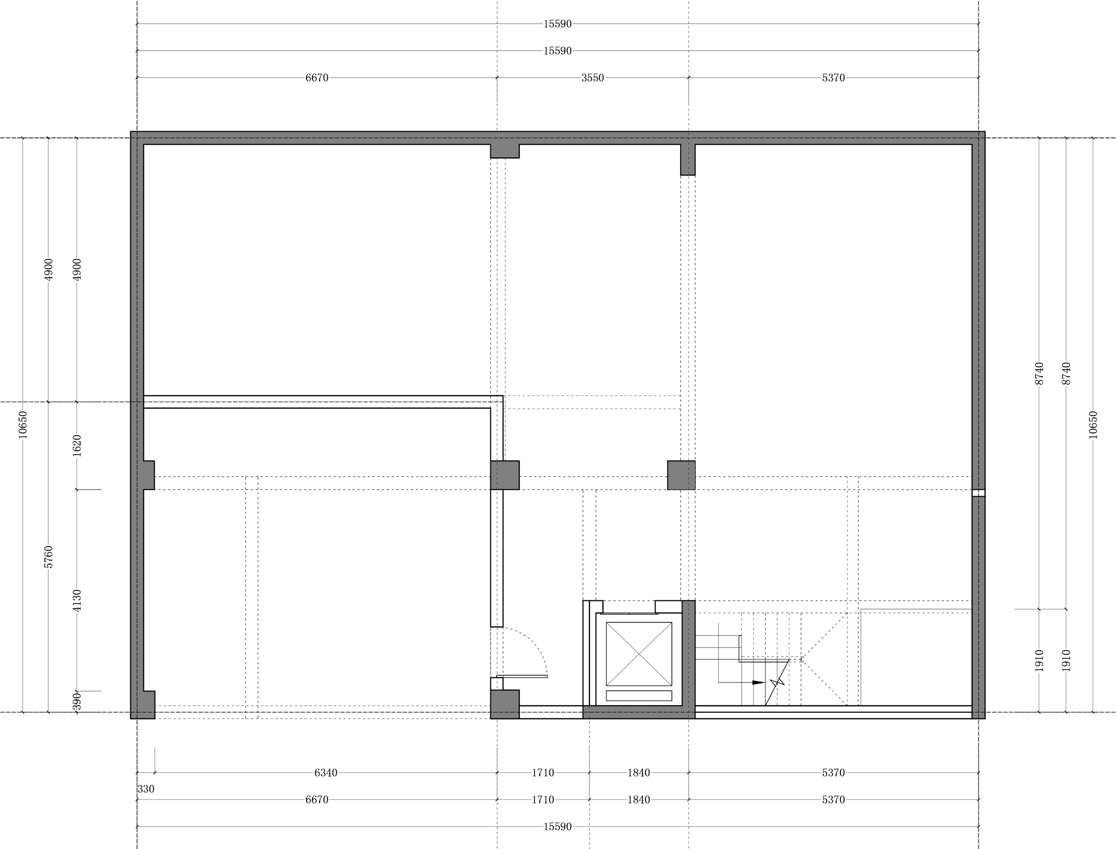 万科云庐725平米法式轻奢风格装修设计效果图装修设计理念