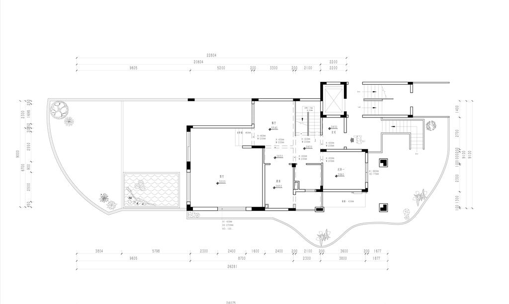 泛海拉菲 簡歐風格裝修效果圖 563平米 別墅裝飾設計裝修設計理念