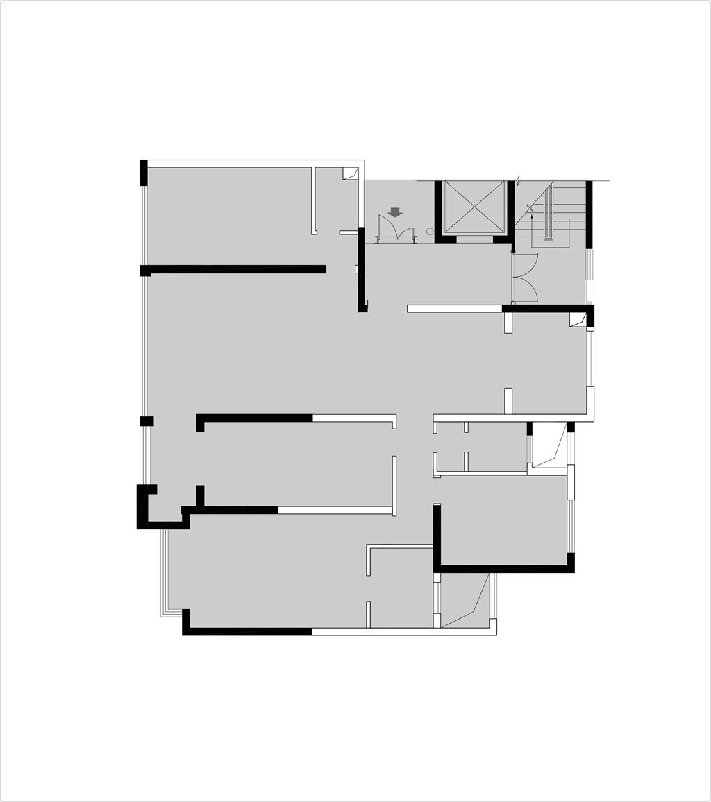 建发央玺186平米现代风格四居案例装修设计理念