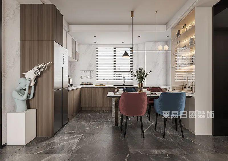 餐厨装修效果图-三室两厅装修案例