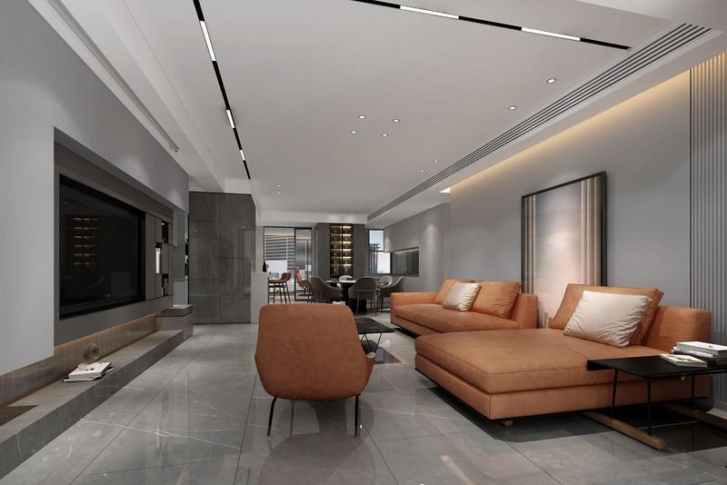 180平米装修风格推荐!极简四居室装修效果图