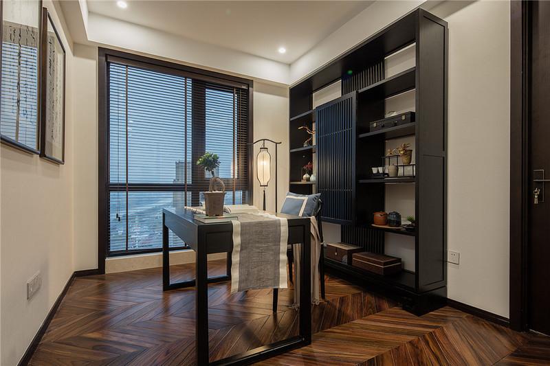 95平米小户型装修-书房