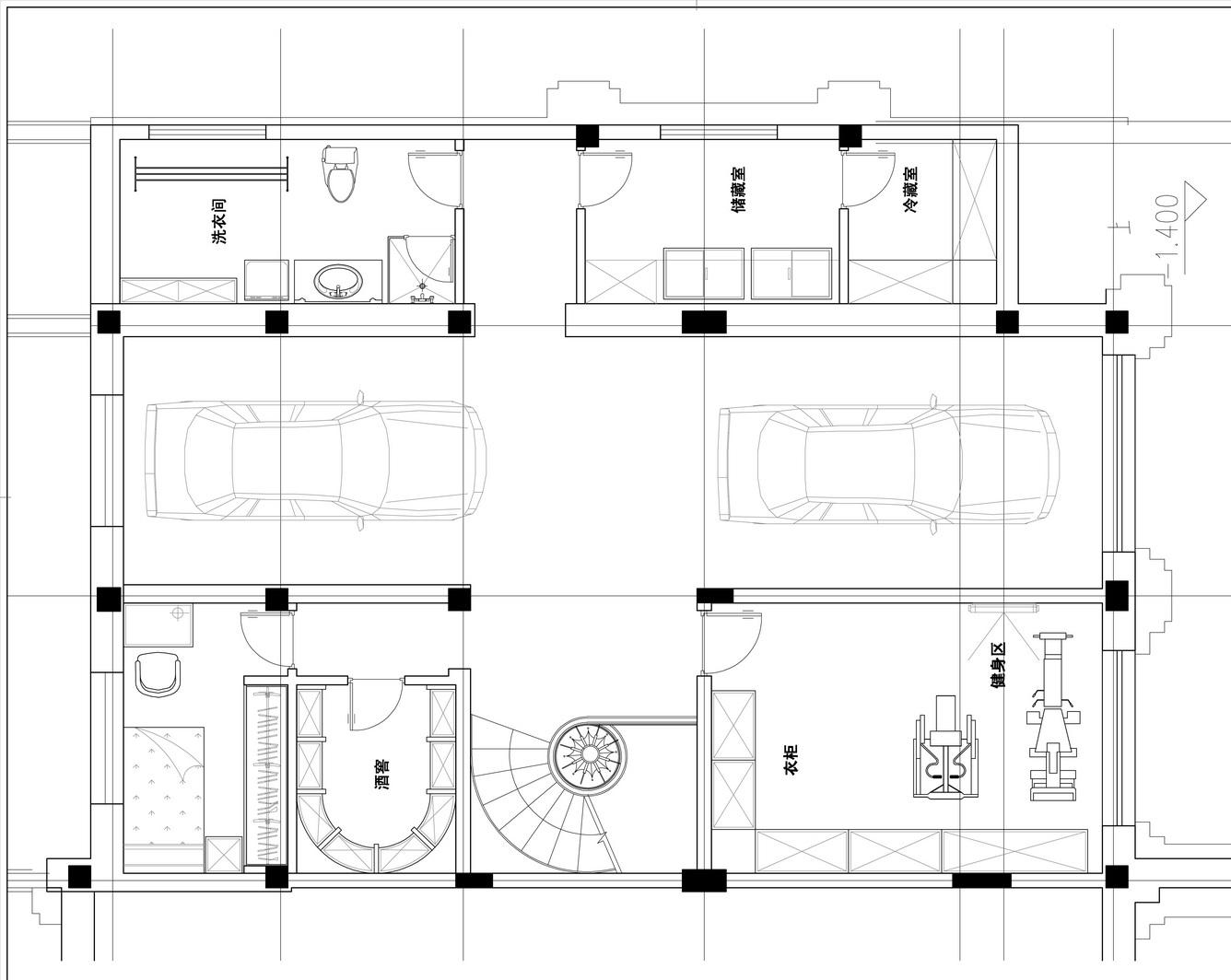 水岸花山-550平米装修-法式乡村风格设计案例装修设计理念