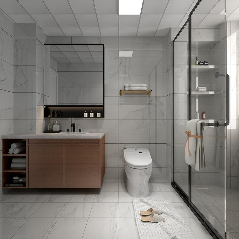 新房装修设计-卫生间装修效果图