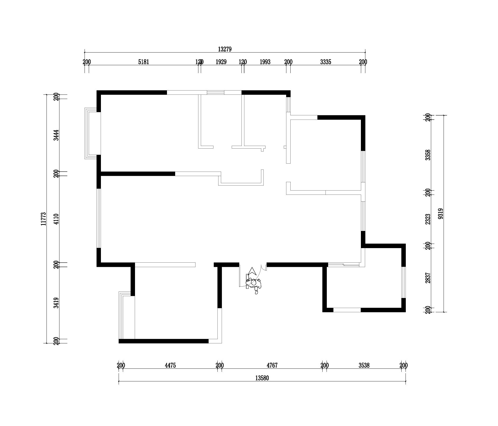 蓝岸丽舍 现代简约 128平米装修设计理念