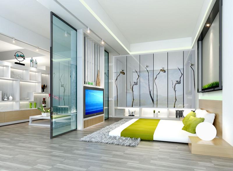 深圳180平米四室装修案例效果图,朴素宁静住宅